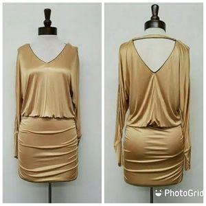 DOLCE & GABBANA Long Sleeve Midi Dress S